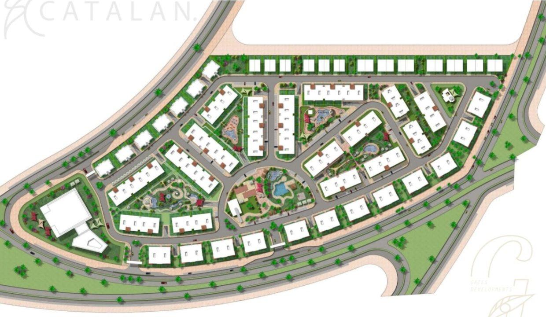 المخطط الرئيسي لكمبوند كتالان العاصمة الجديدة